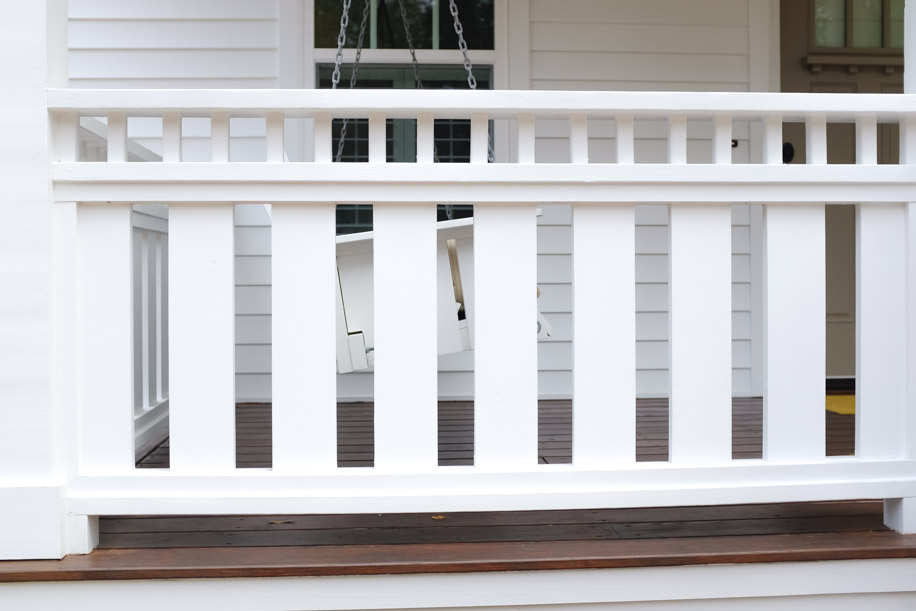 DIY Custom Porch Deck Rail Cottage Design