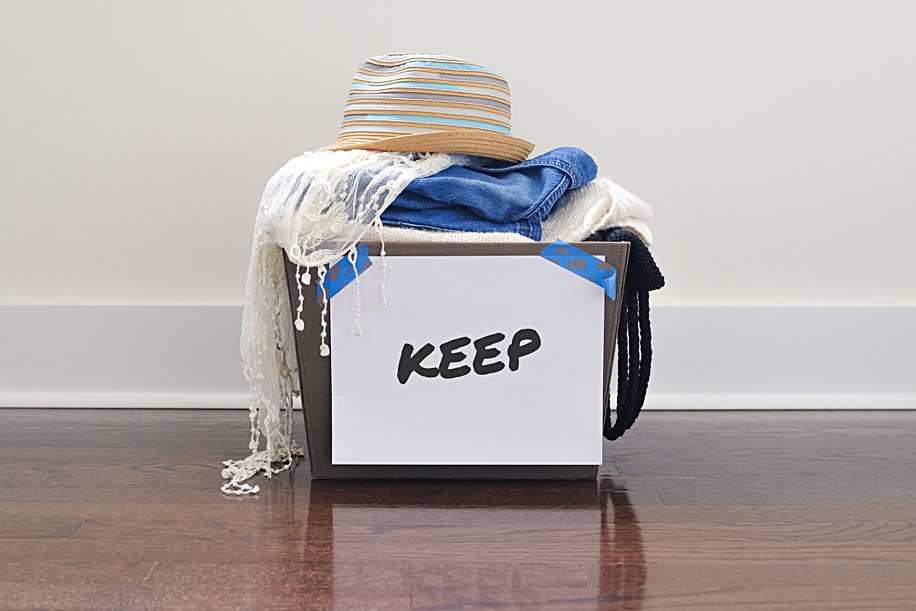 Declutter Your Clothes Closet 3 Organizer Tips 3 | Simply Living NC