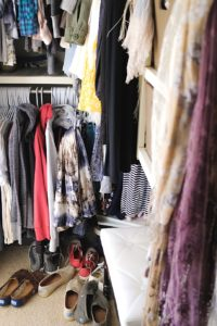 Declutter Your Clothes Closet 3 Organizer Tips 3 | Simply Living NC (5)