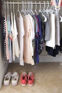 Declutter Your Clothes Closet 3 Organizer Tips 3   Simply Living NC (1)