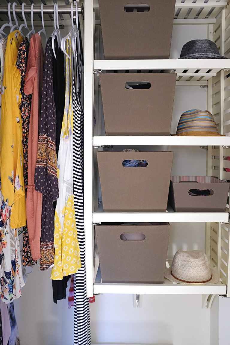 vertically a closet little stack rather lot to organize very clothes clothing in space zyyzyly how of