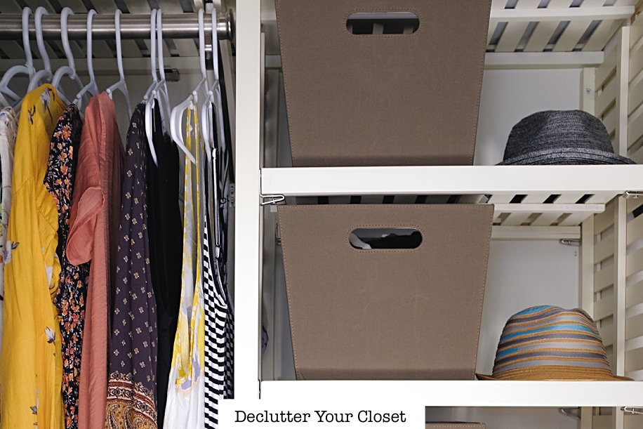 Declutter Your Clothes Closet 3 Organizer Tips 3 | Simply Living NC (8)