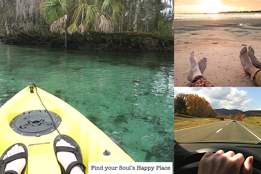 Home, Beach, Mountains, Find your Soul's Happy Place | Our 6 Step Journey | Simply Living NC