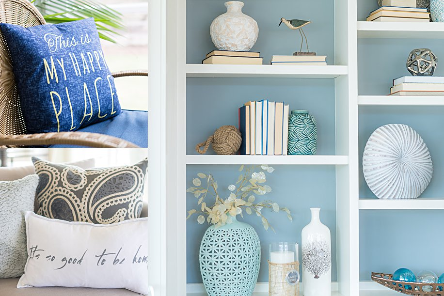 How to Style a Chic Beach House | Coastal Details | Simply Living NC