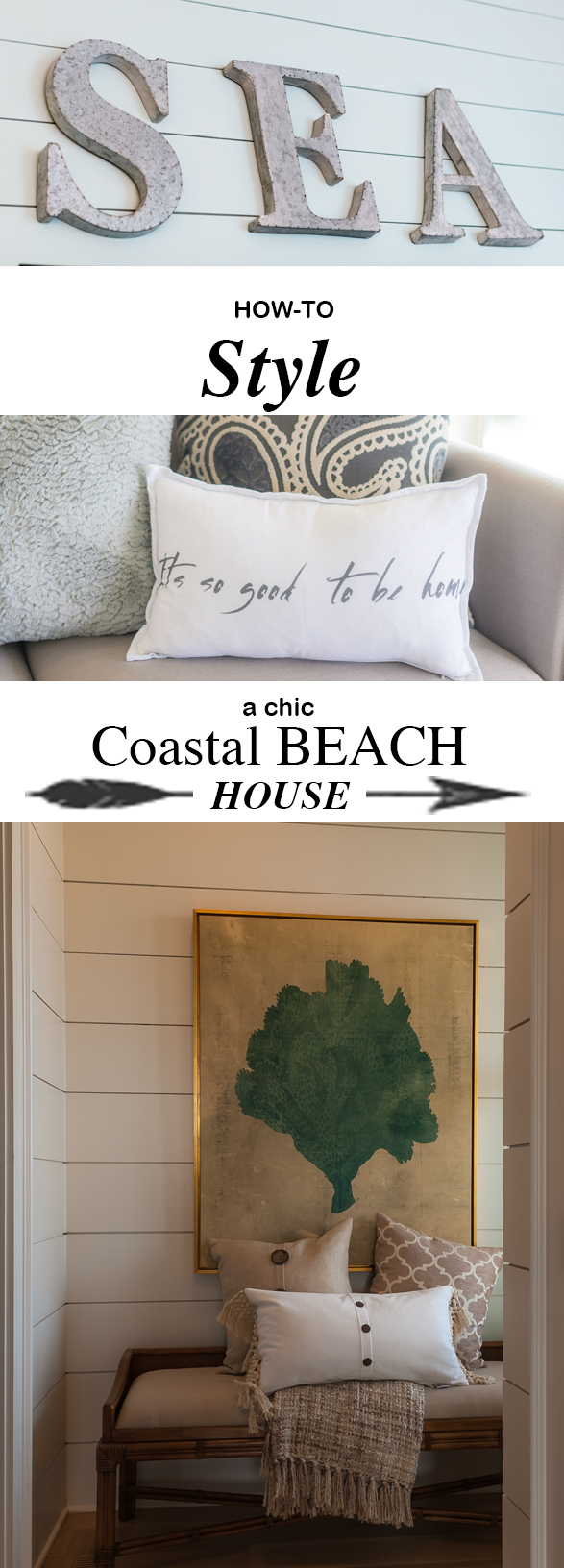 How To Style A Chic Beach House Coastal Details Simply