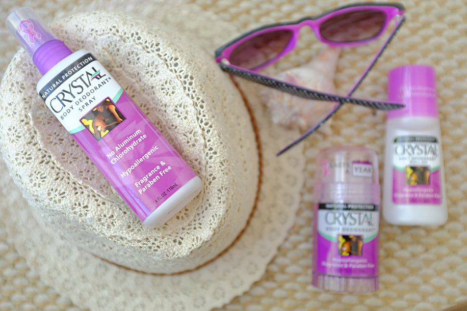 Crystal Salt Deodorant a Natural Safe Alternative to Chemicals | Simply Living NC