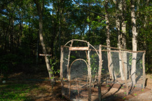 How To Build a Rustic Deer Resistant Small Vegetable Garden | Simply Living NC
