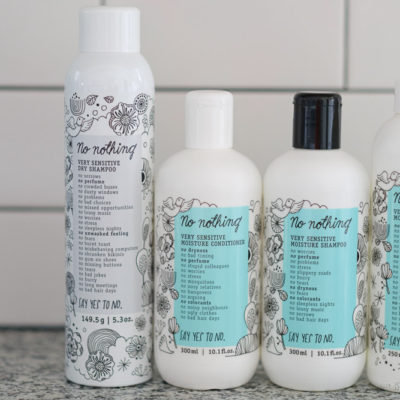 "Fragrance Free Hair Products Brand ""No Nothing"" Review"
