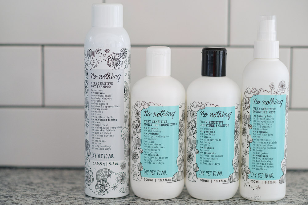 "Fragrance Free Hair Products Brand ""No Nothing"" Review 