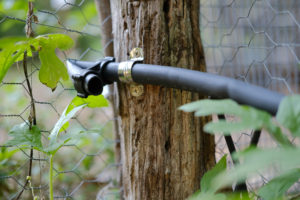DIY Vegetable Garden Drip Irrigation; made easy | Simply Living NC