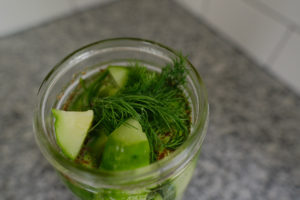 How to Make Refrigerator Pickles 2 Ways; dill plus bread & butter   Simply Living NC