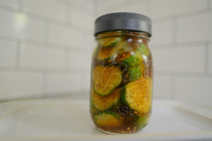 How to Make Refrigerator Pickles 2 Ways; dill plus bread & butter | Simply Living NC