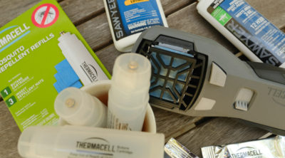 Get Rid of Mosquitoes Safely with Thermacell & Treat Bug Bites | Simply Living NC